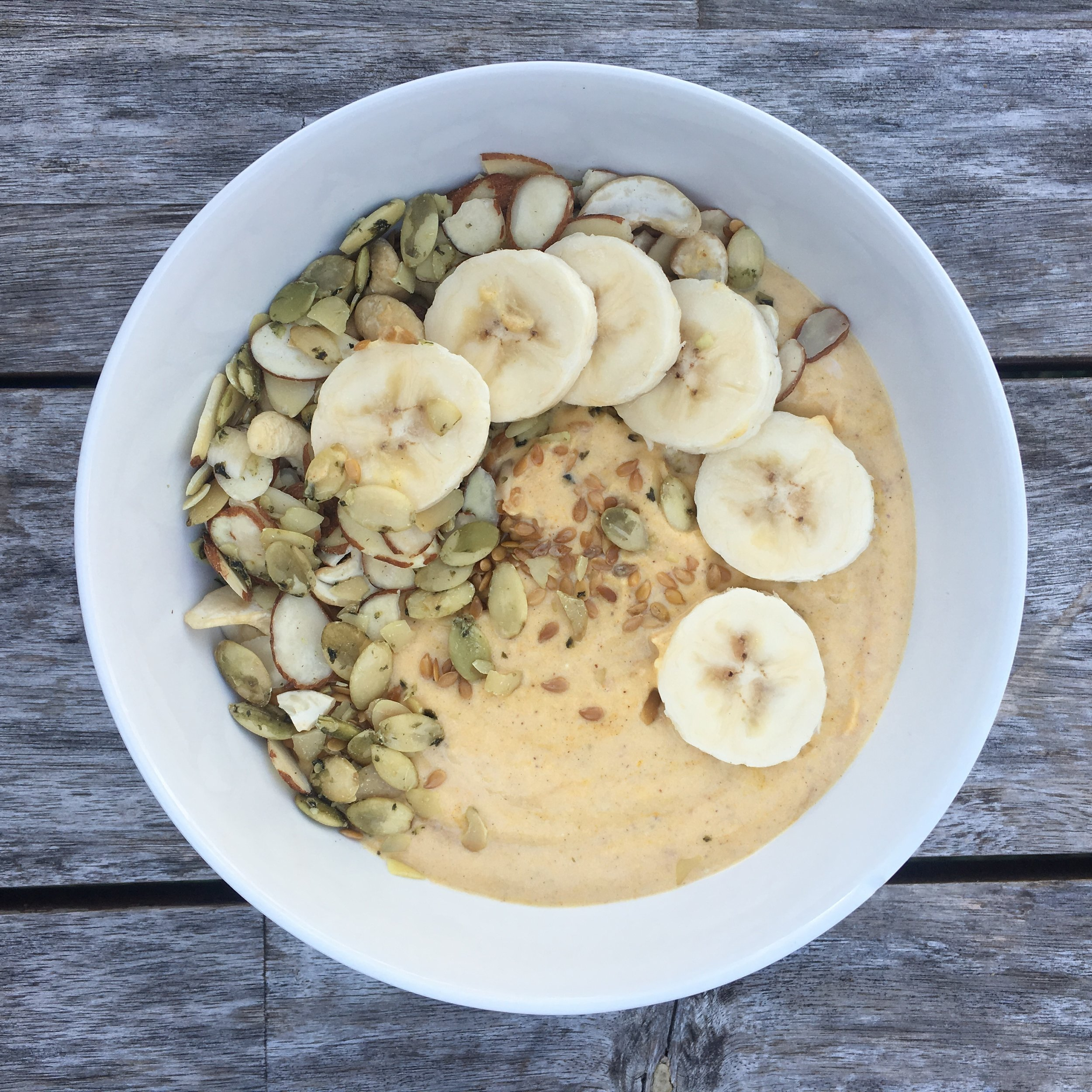 - Boost your mornings with this pumpkin spice smoothie bowl