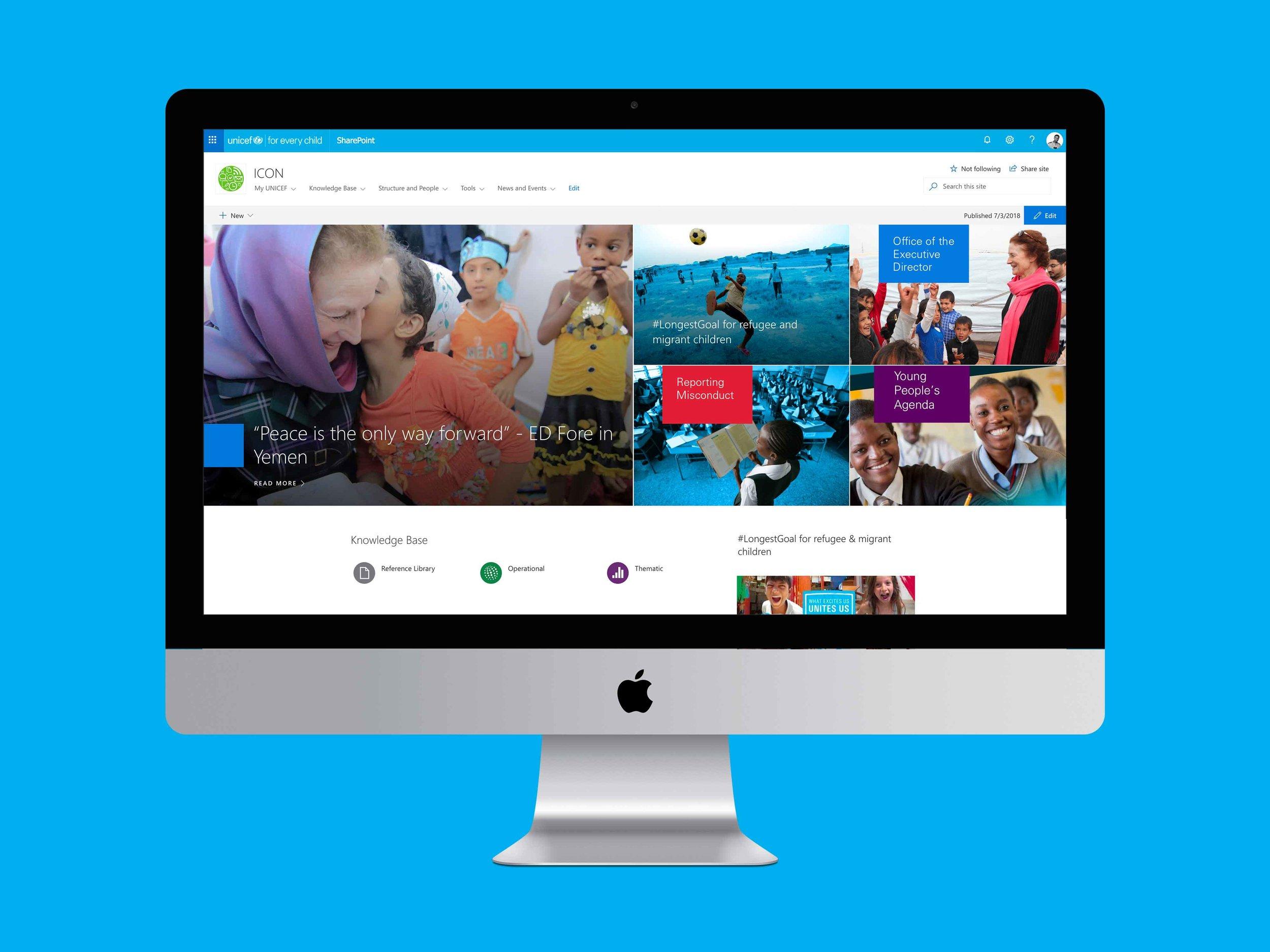 UNICEF Digital Workpalce