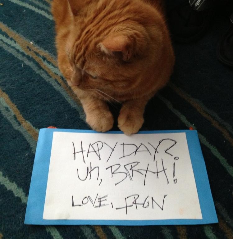 Uhhhh, I'm uncomfortable with your birthday,