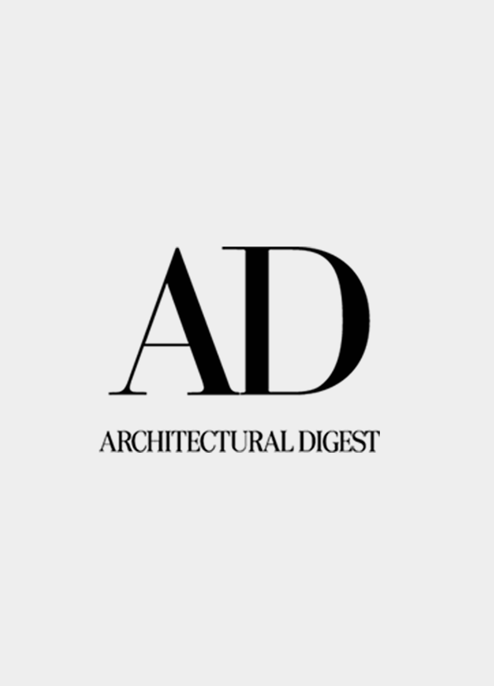 Architectural Digest  August 2o17    READ MORE