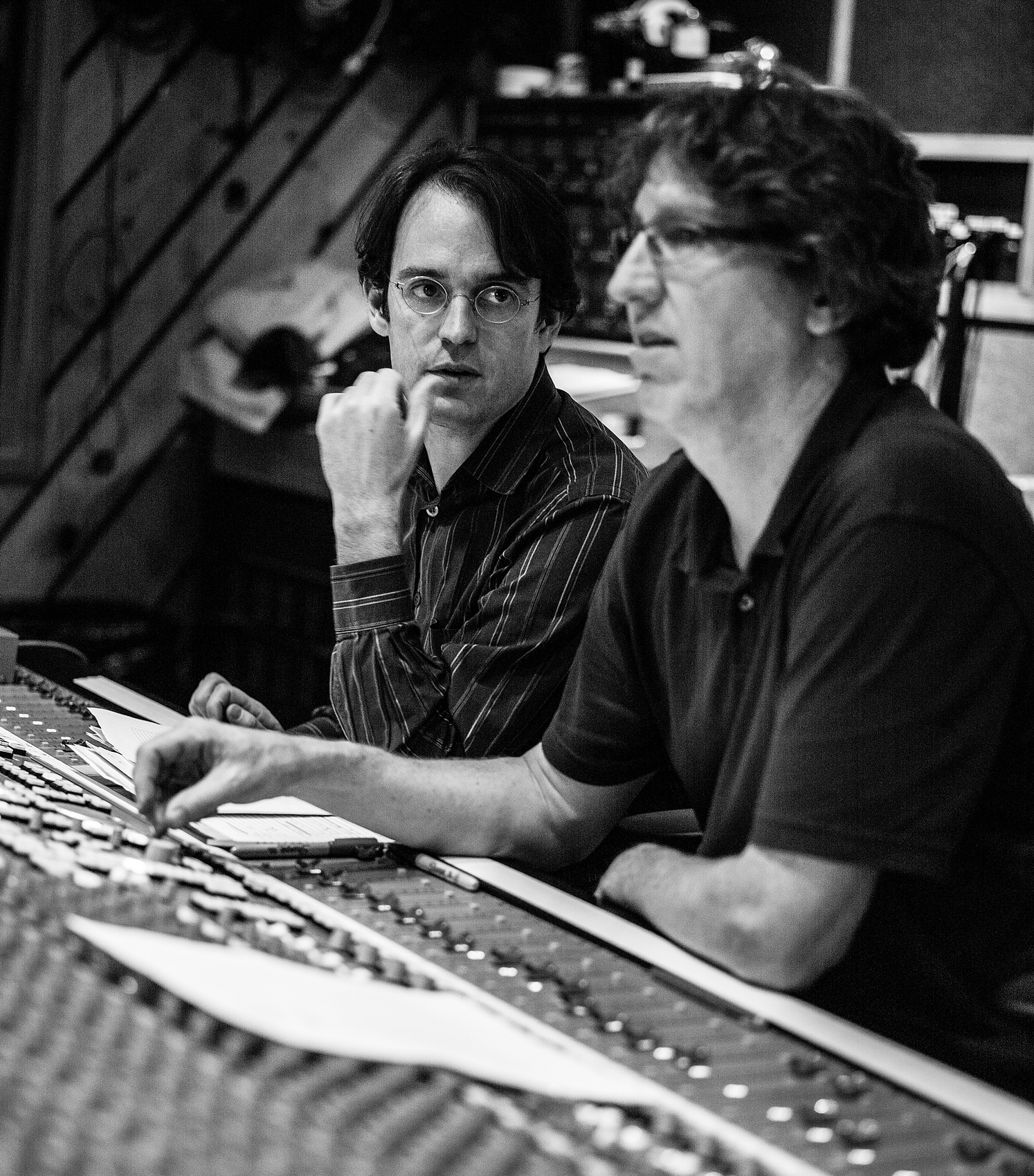 Patrick Zimmerli, Dave O'Donnell, Avatar Studios NYC 2013