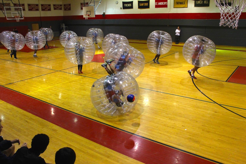 St. Andrews Bubble Soccer Rental