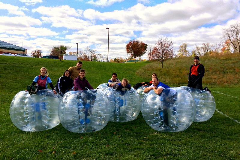 Bubble Soccer Maryland Rental