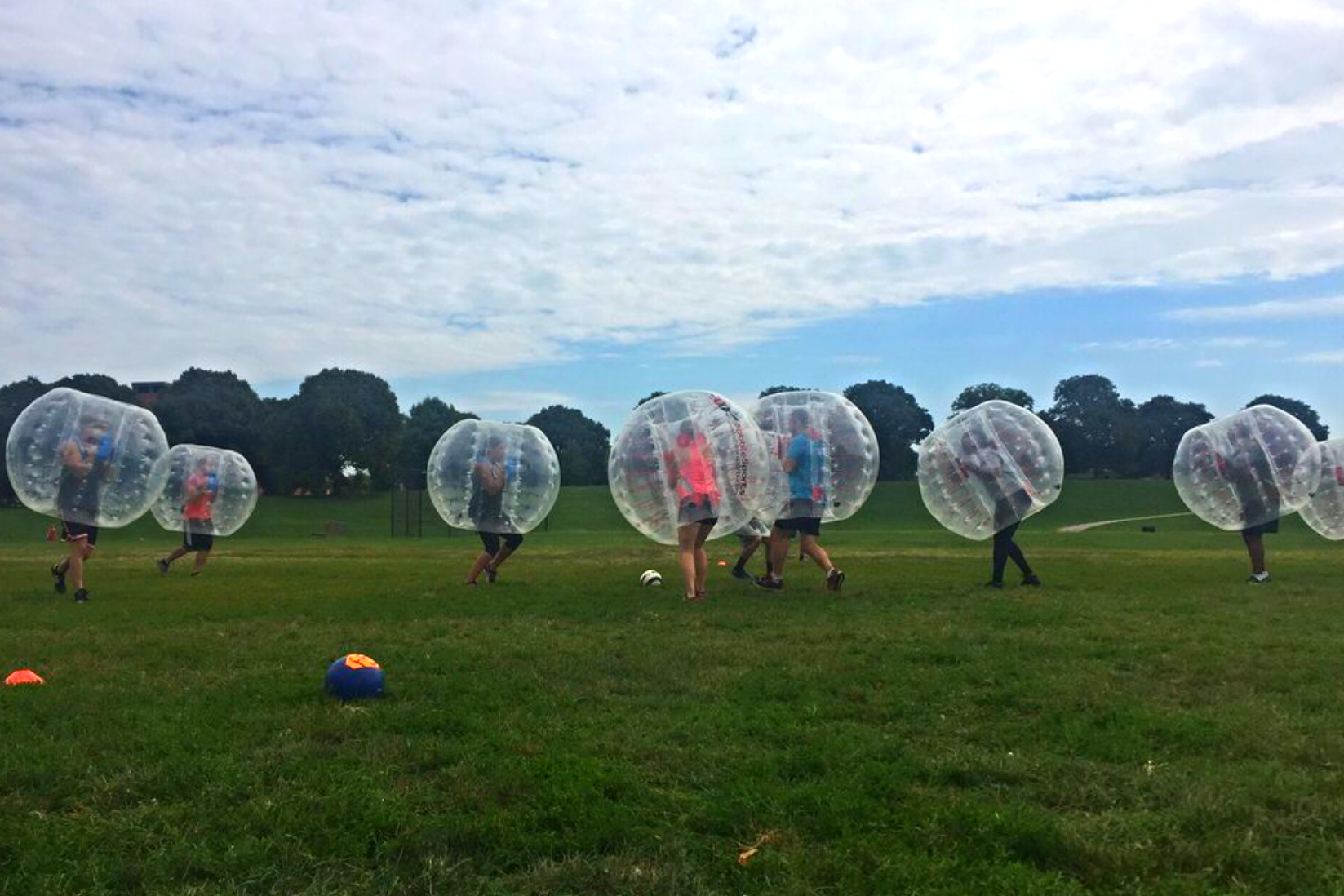 Bubble Ball Sports in Patterson Park