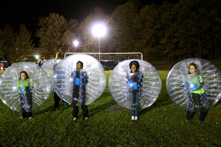 SCC Bubble Soccer Rental