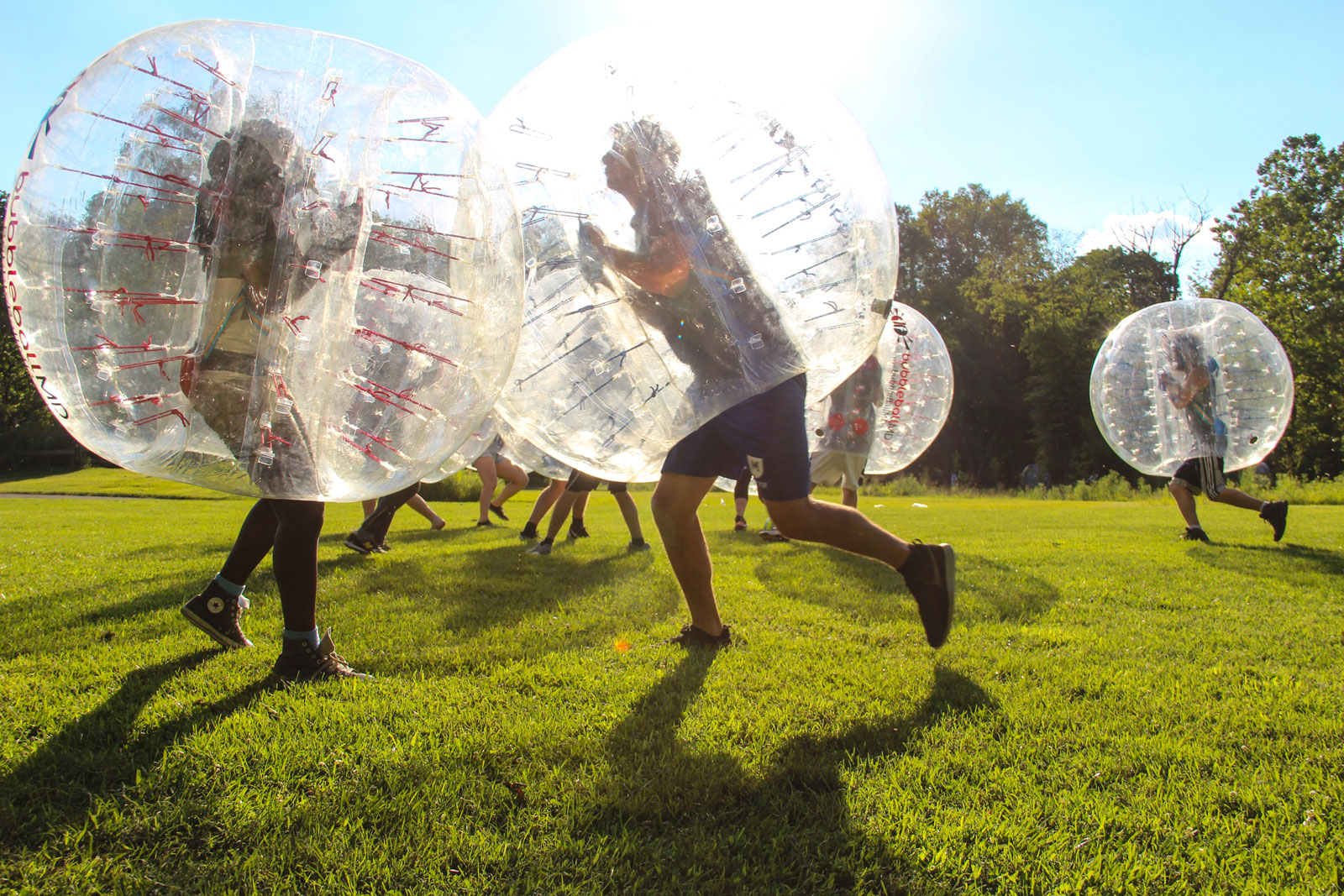 Bubble Soccer Maryland Birthday Party
