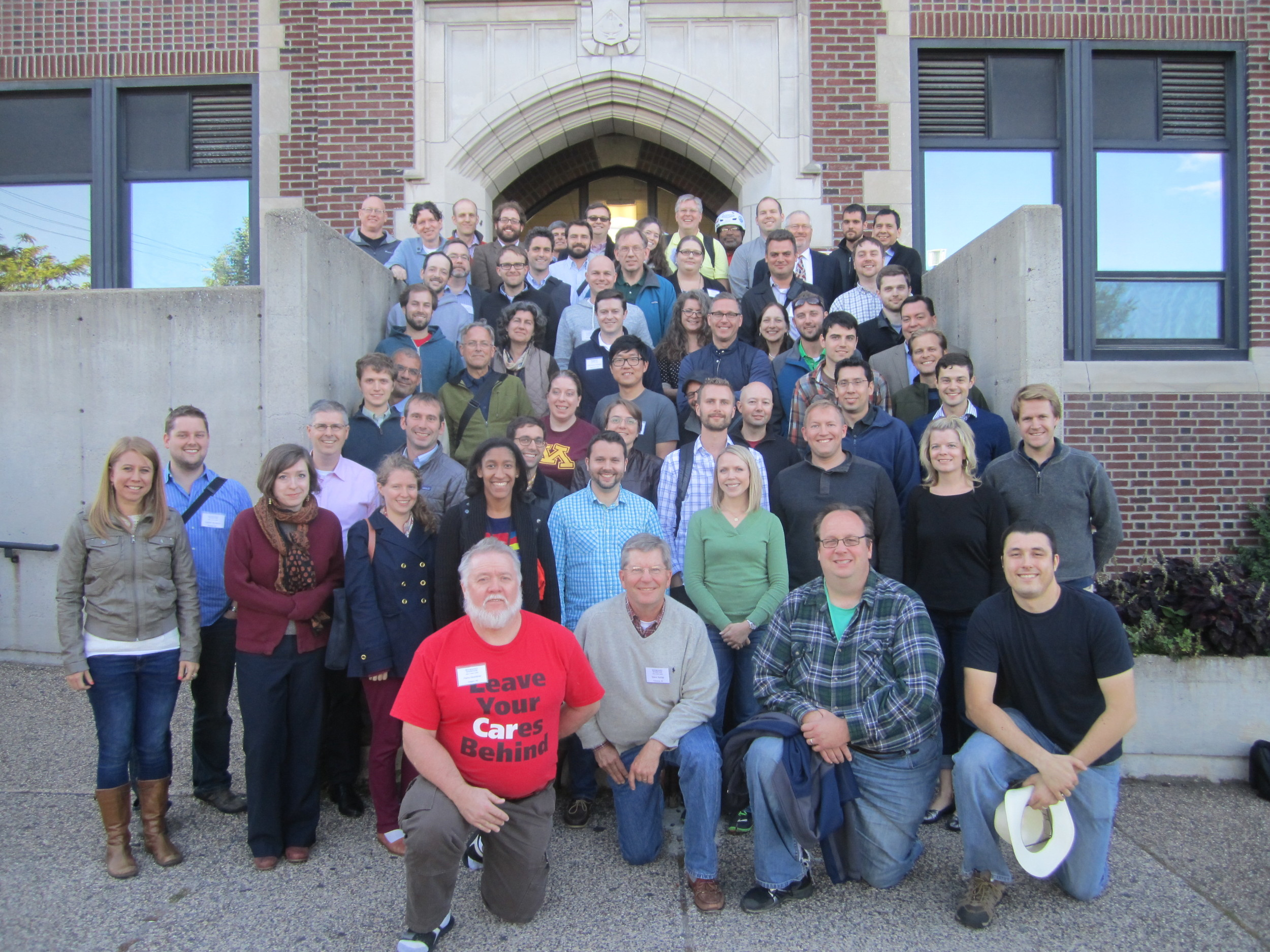 I LOVE OUR MEMBERS! This photo was taken at the National Gathering in Minneapolis this past September.
