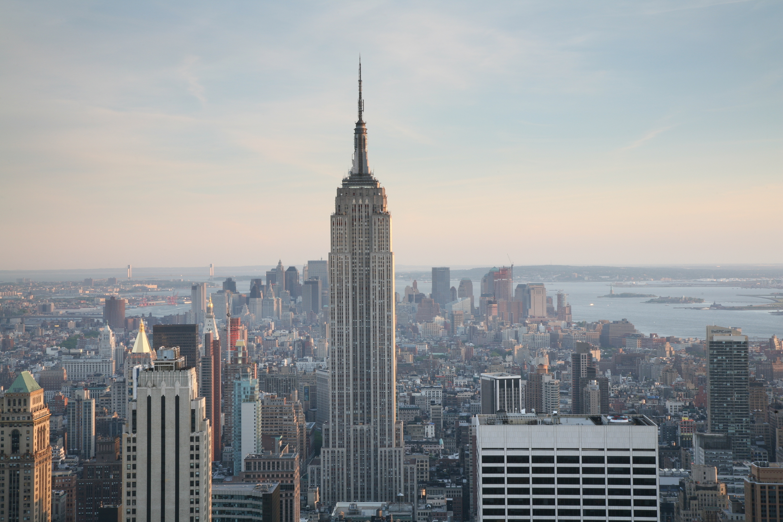 There is no chance the Empire State Building is abandoned because the street in front of it can't be maintained. You can't say the same about your suburban tract house.