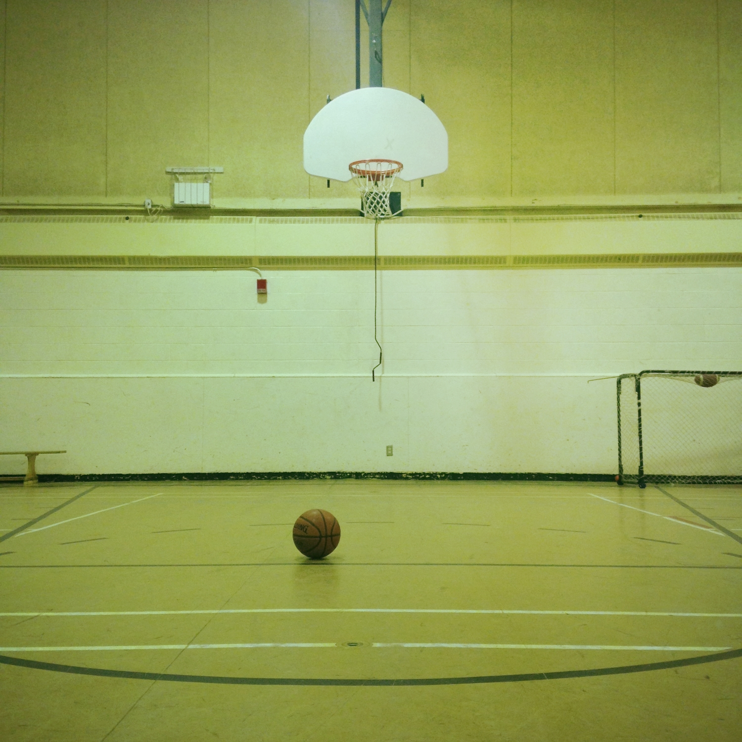 Shot some hoops.