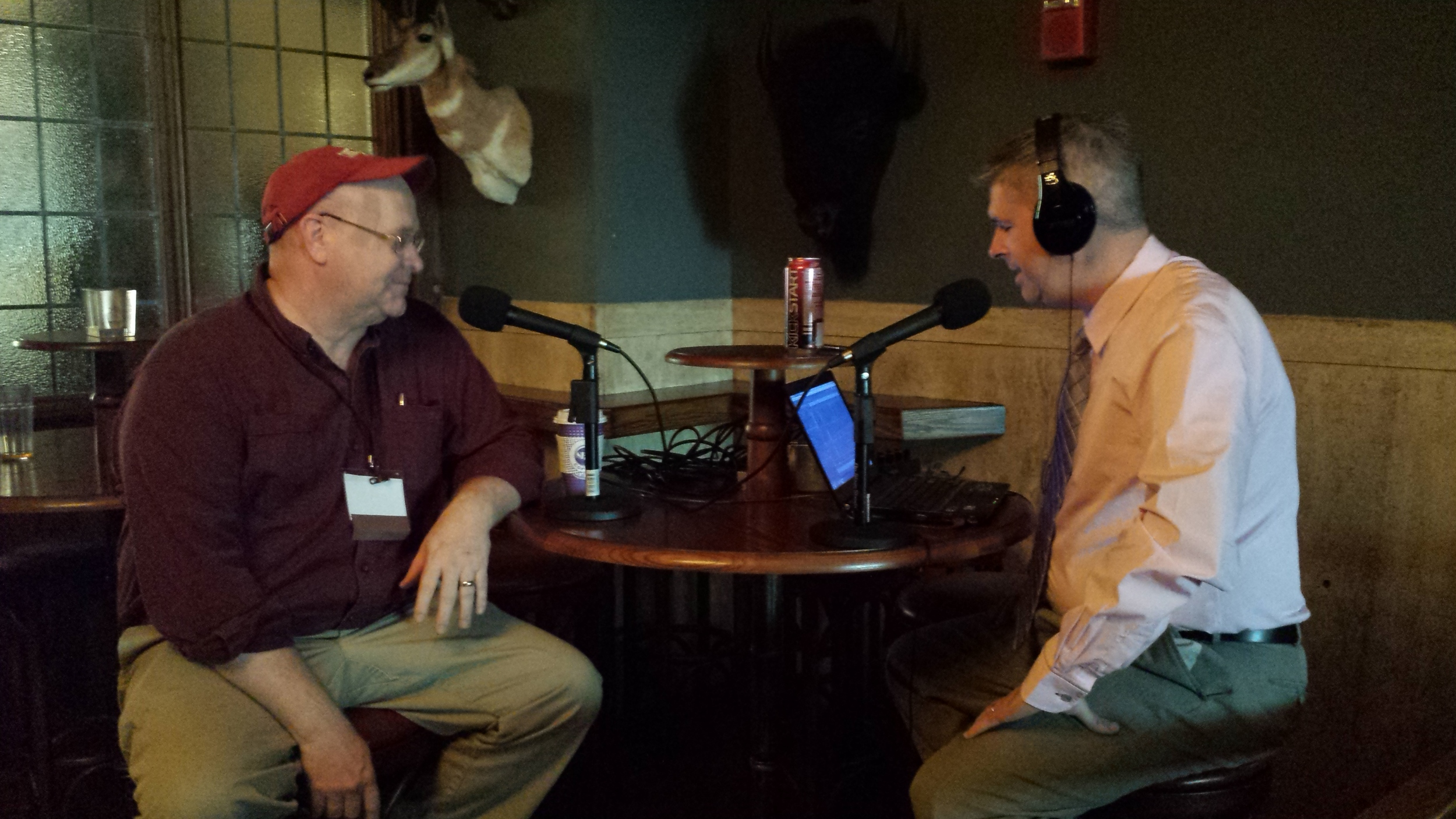 R. John Anderson and Chuck Marohn at CNU 23 in Buffalo.