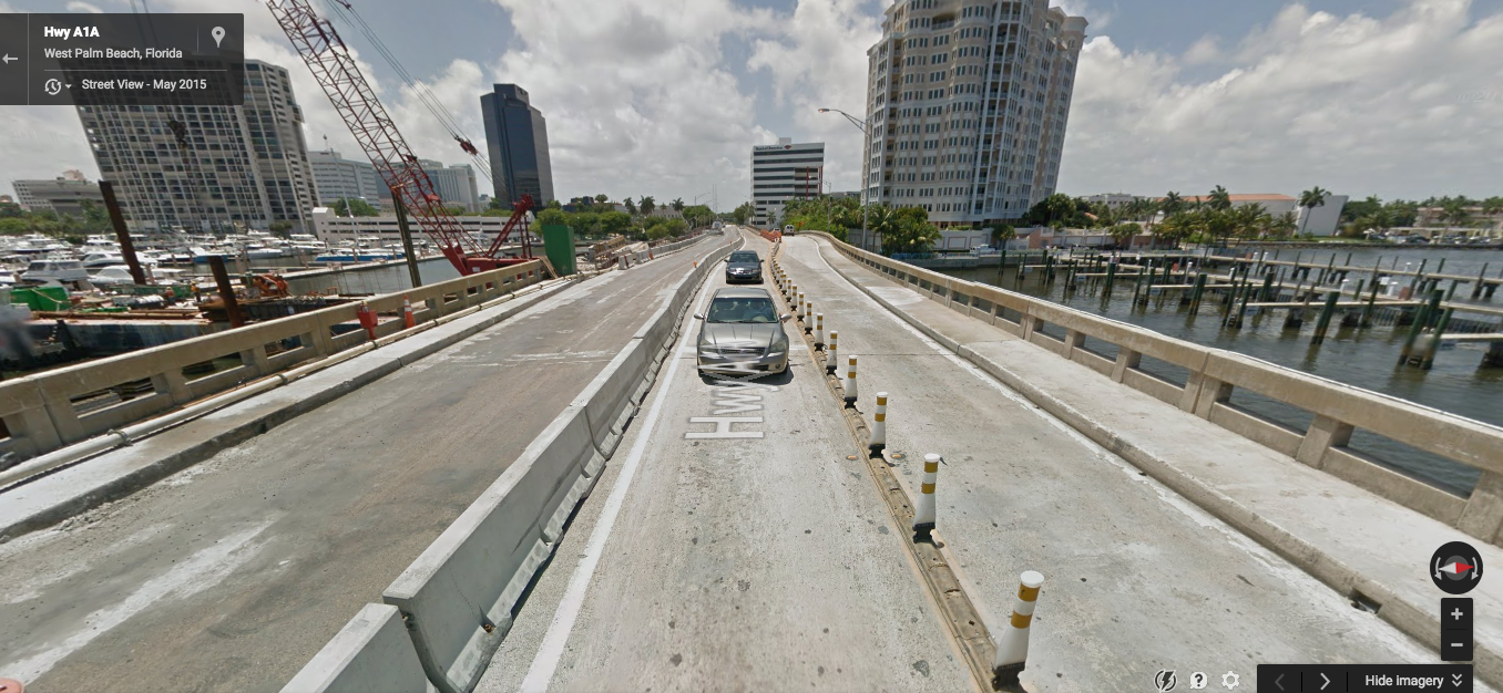 The bridge in May 2015. (Source: Google)