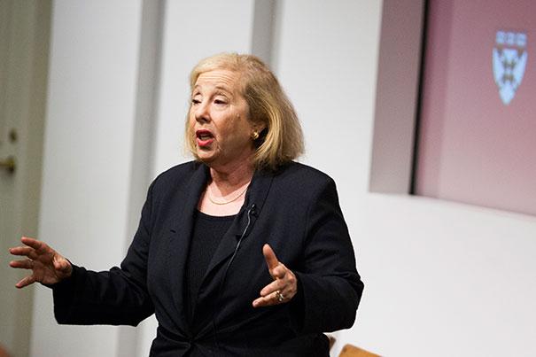 Rosabeth Moss Kanter, professor of business at Harvard Business School