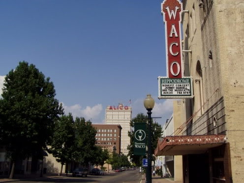 Historic restoration in downtown Waco.