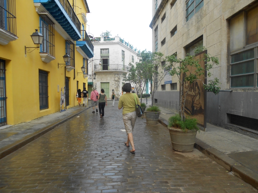 A side street in Havana