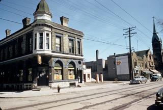 Brady Street circa 1950s. Photo from Frank Alioto