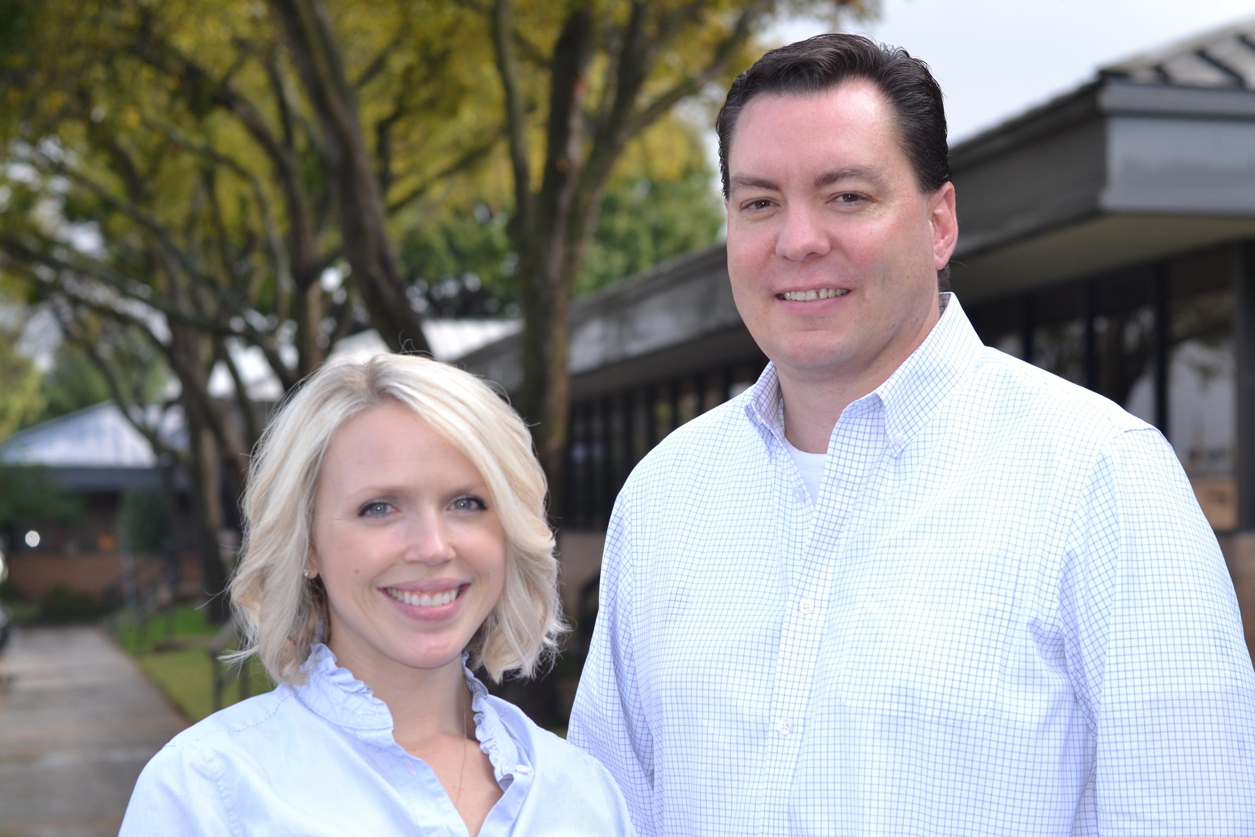 Kristin Green and Kevin Shepherd