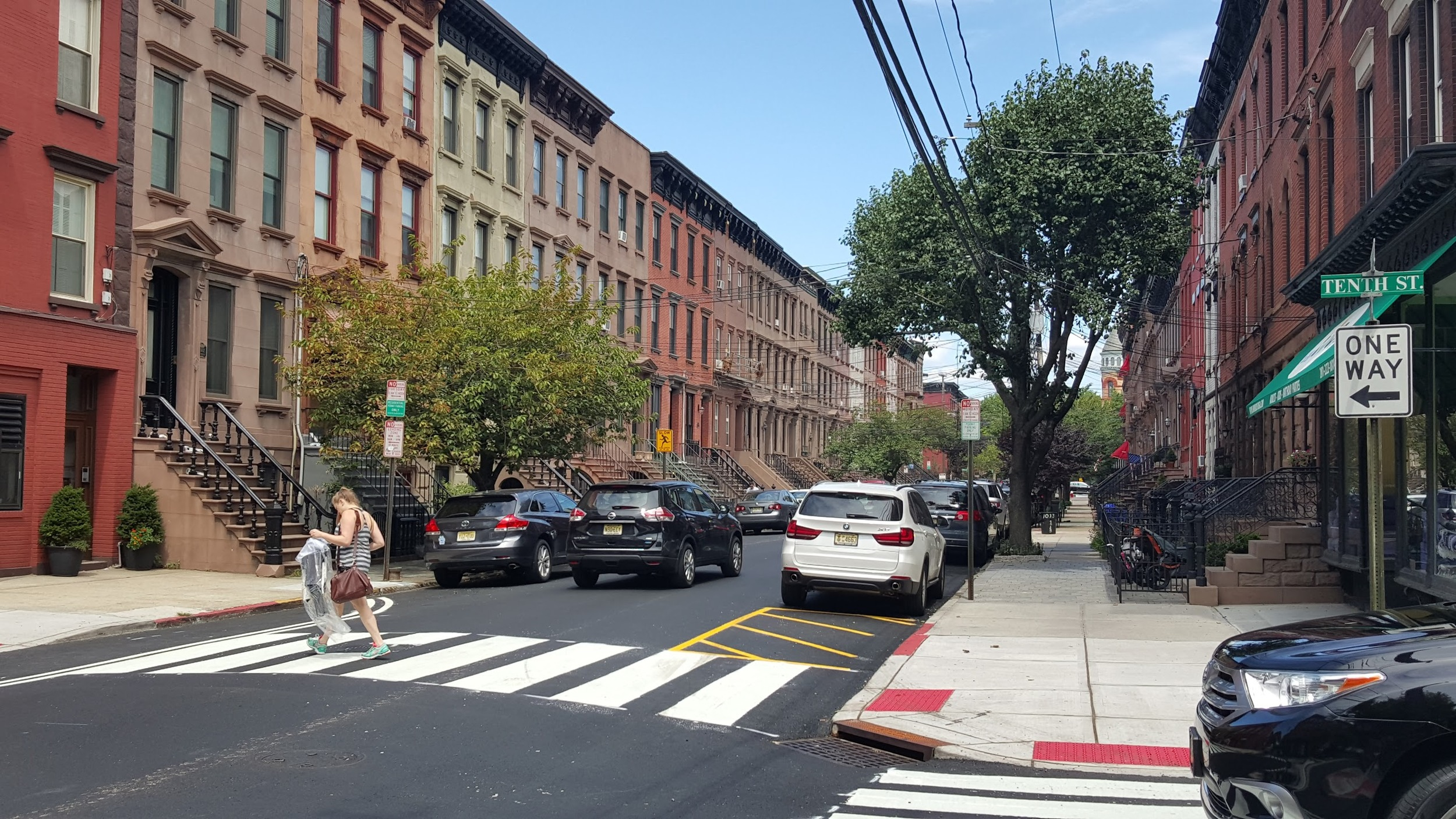 On-street parking spaces in Hoboken. Rent your own for $15/year! Apartment not included.