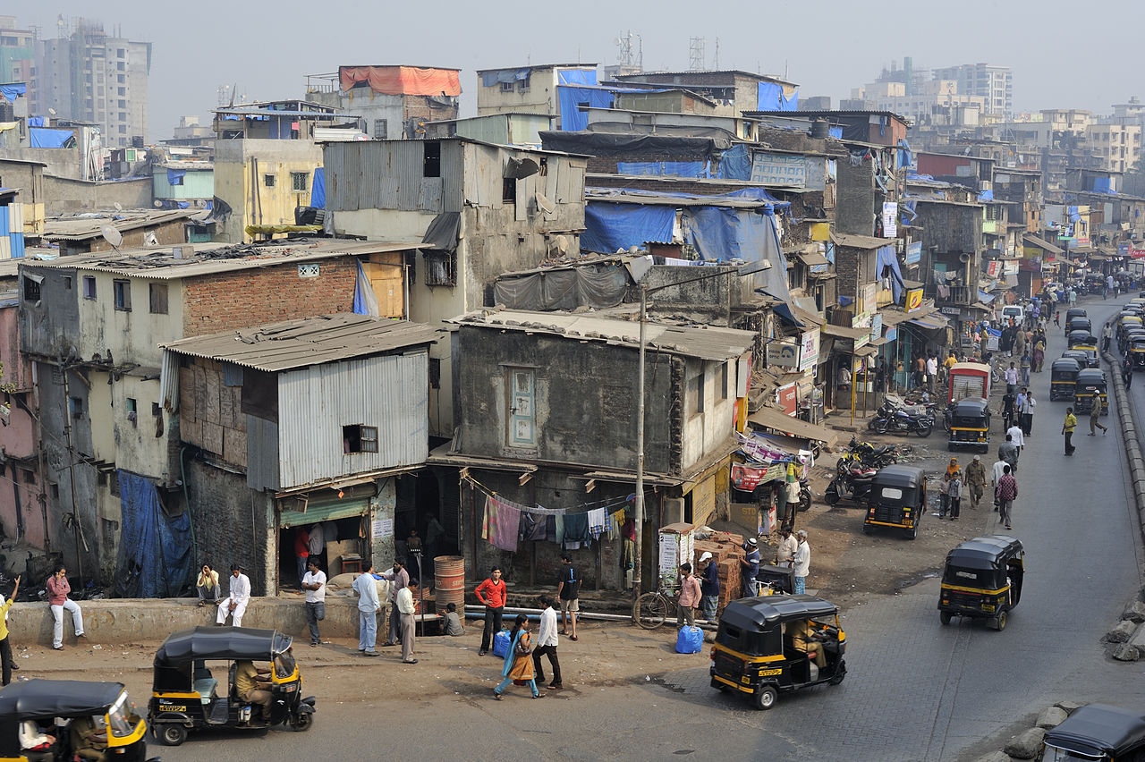 Dharavi, Mumbai, India. Source: Wikipedia