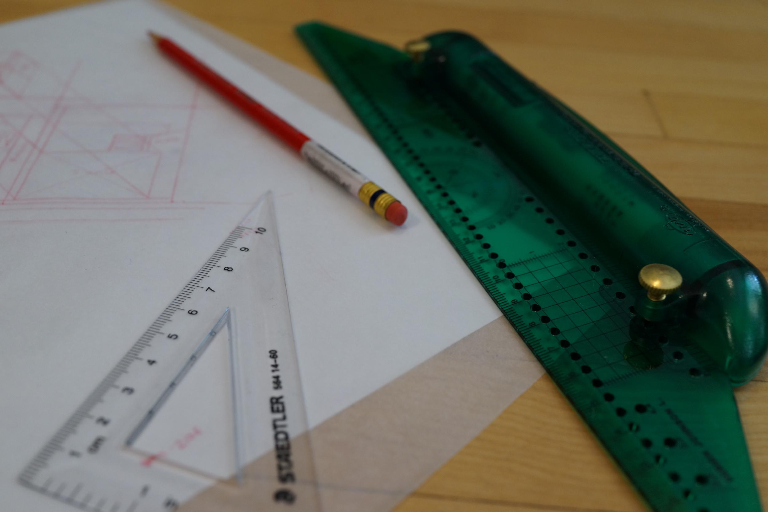 Col-Erase Pencil & Rulers