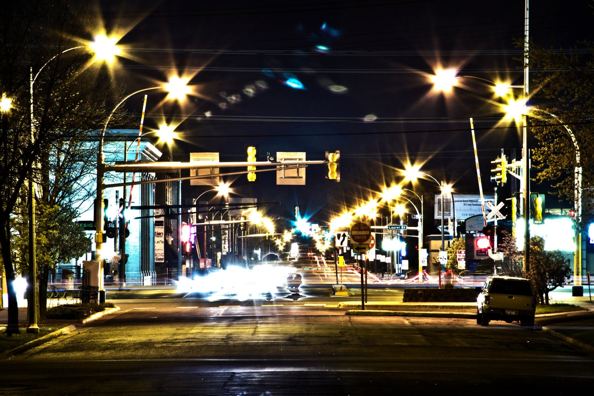 South 6th Street in Brainerd, MN. Photo by  Adam Brown Photography .