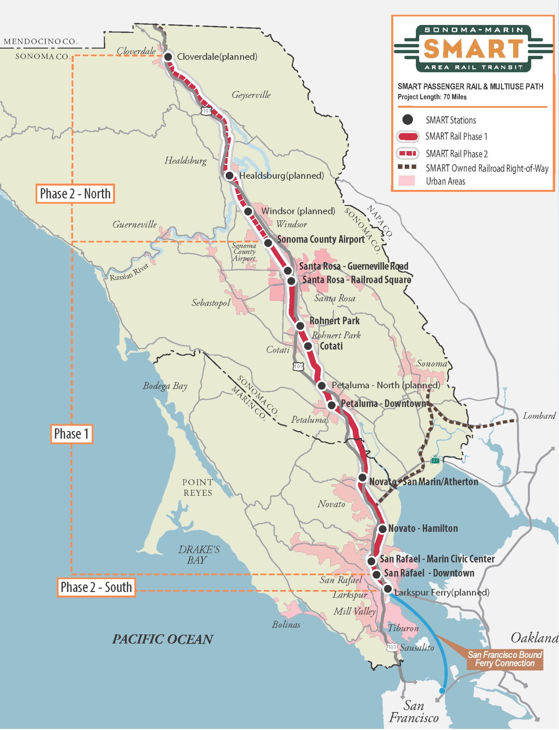 Image from Sonoma Marin Area Rail Transit (SMART)