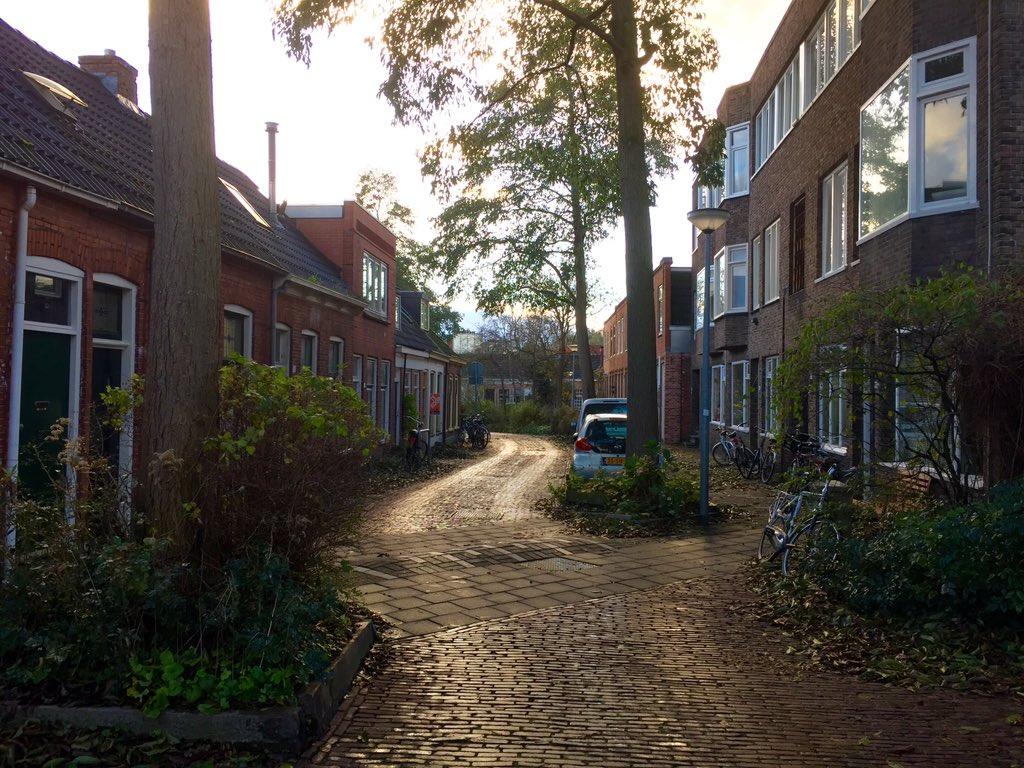 A woonerf in Groningen.