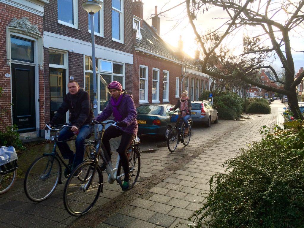 Another woonerf in Groningen.