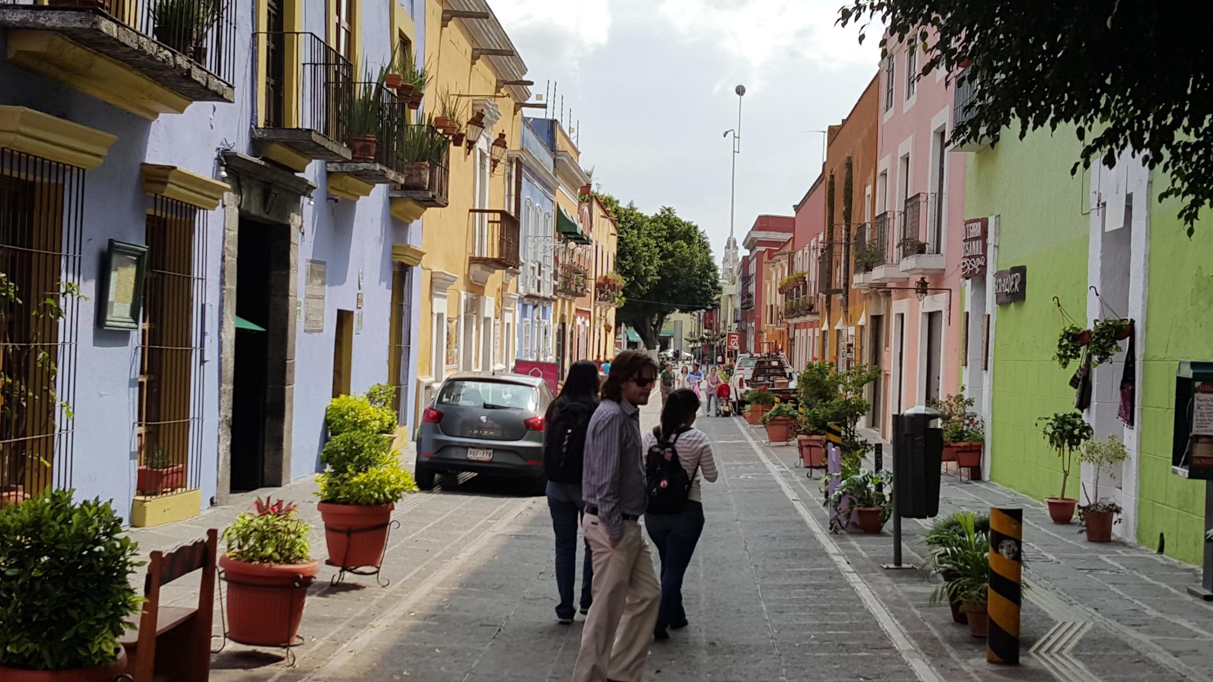 Another street in Puebla.
