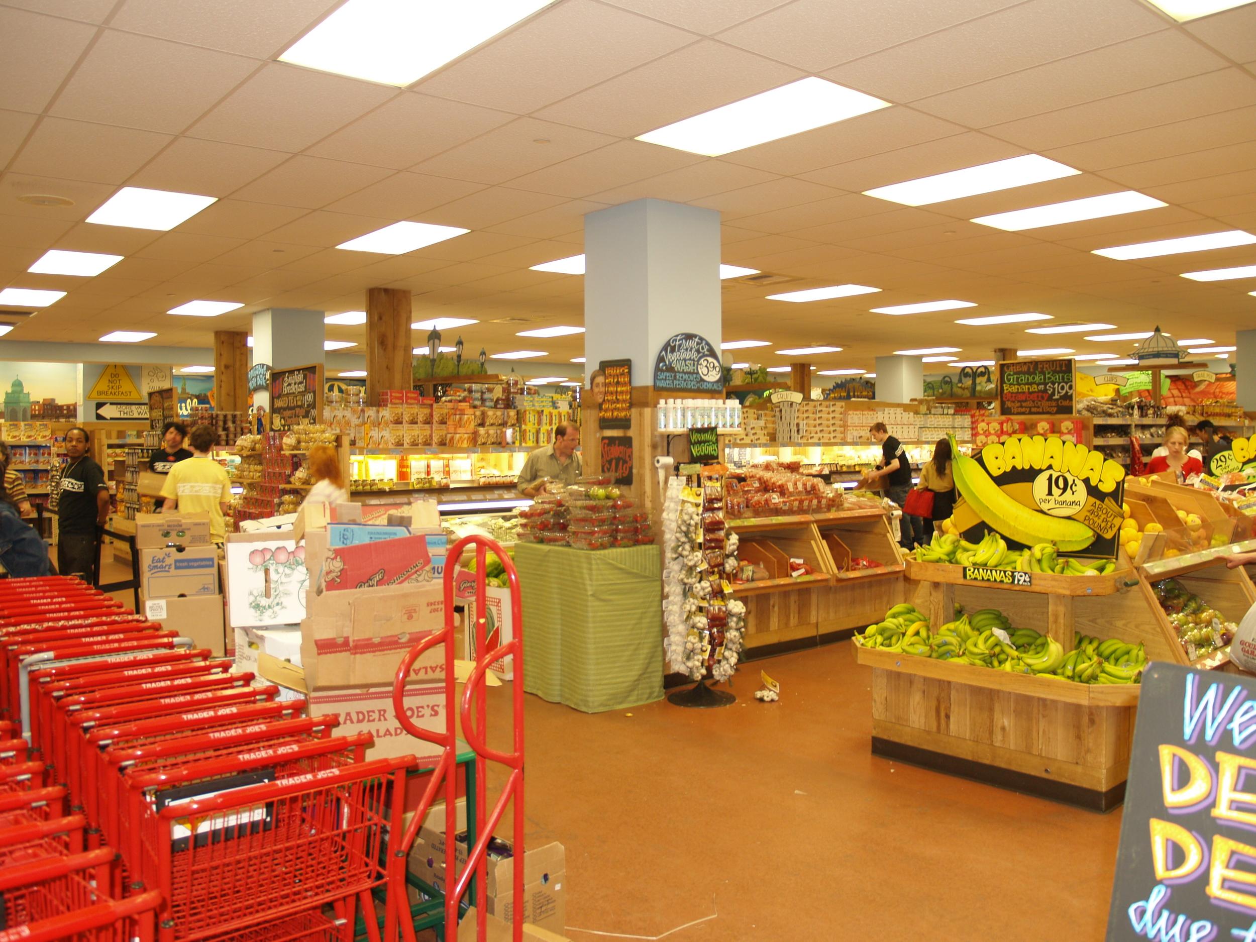 Image of Trader Joe's, from  Wikimedia