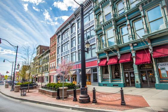Downtown Binghamton, New York By ArianDavidPhotography