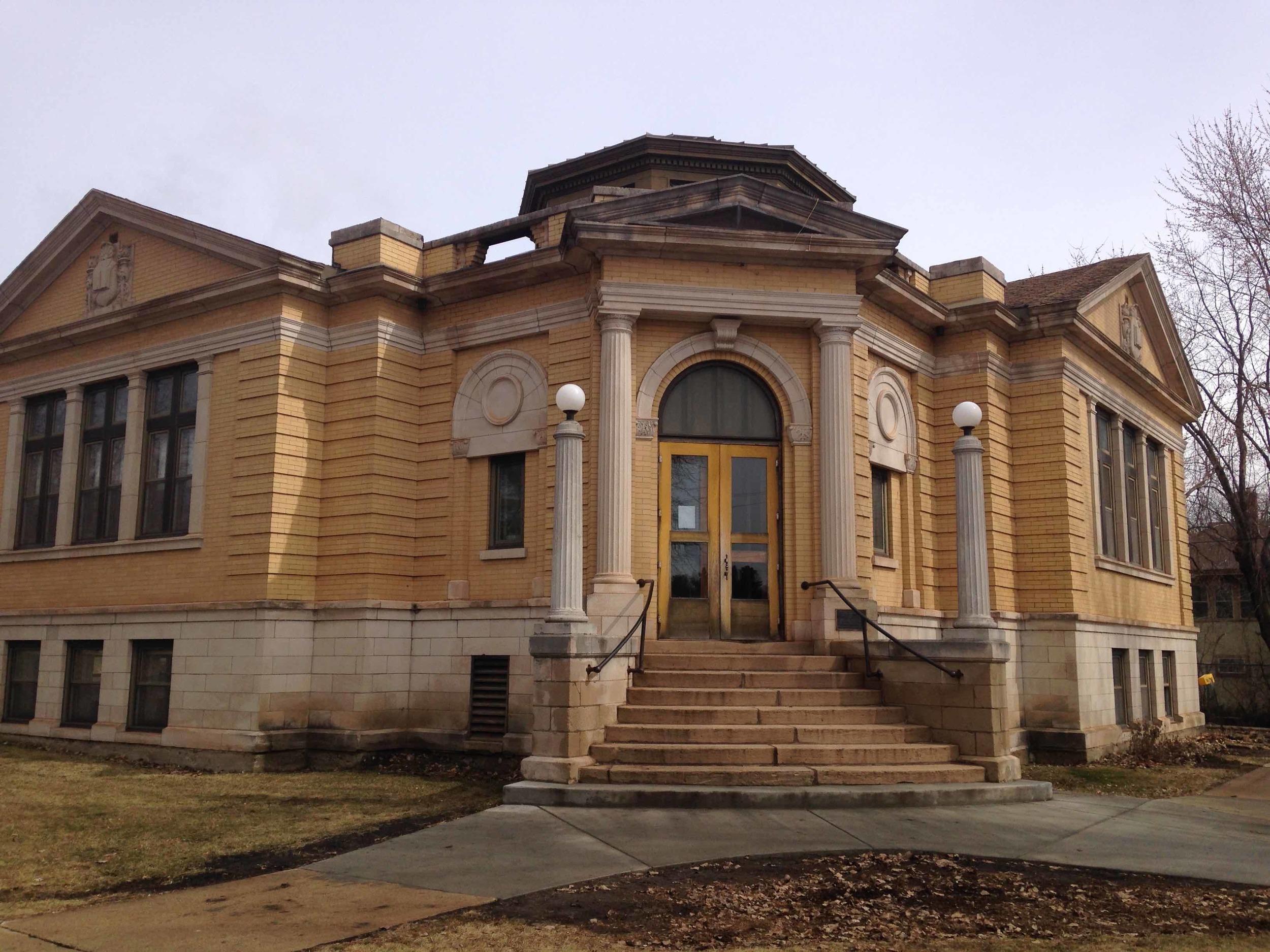 Carnegie Library in Coleraine