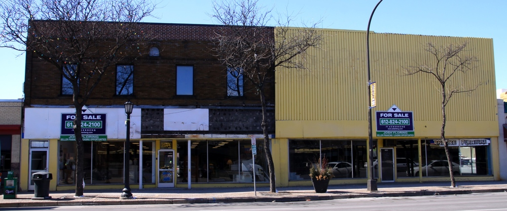 The building, before purchase
