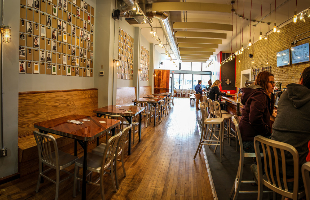 Inside the beerhall