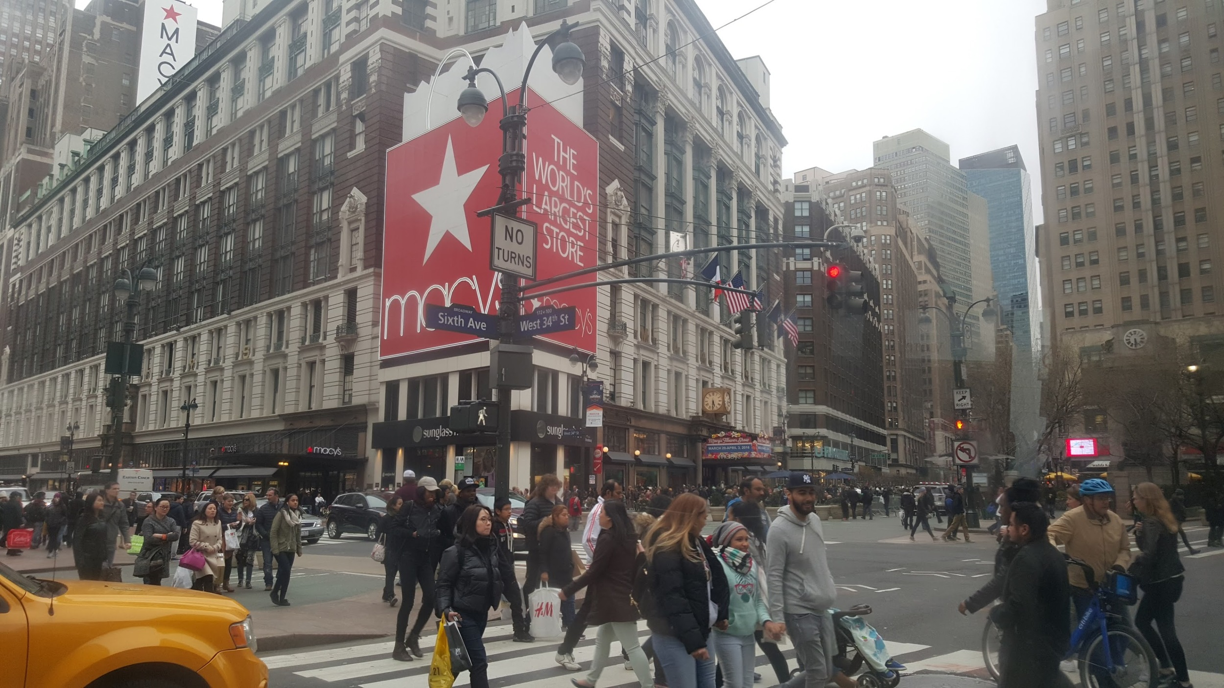 Macy's flagship building in midtown Manhattan.2,200,000 square feet of retail. A 260,000 square foot Walmart superstore is small potatoes.