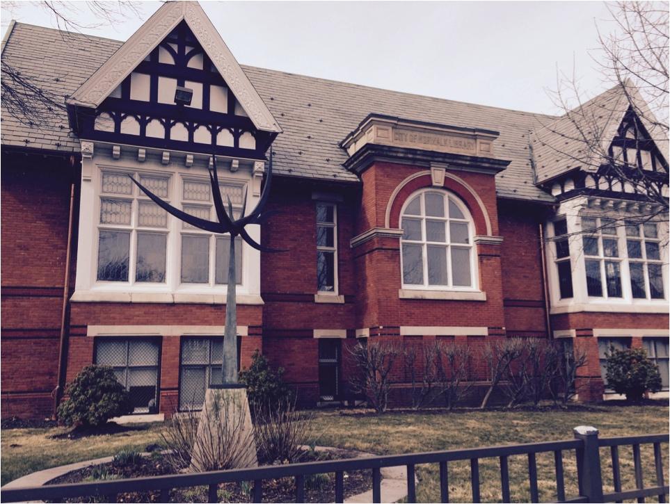 An original Carnegie Library
