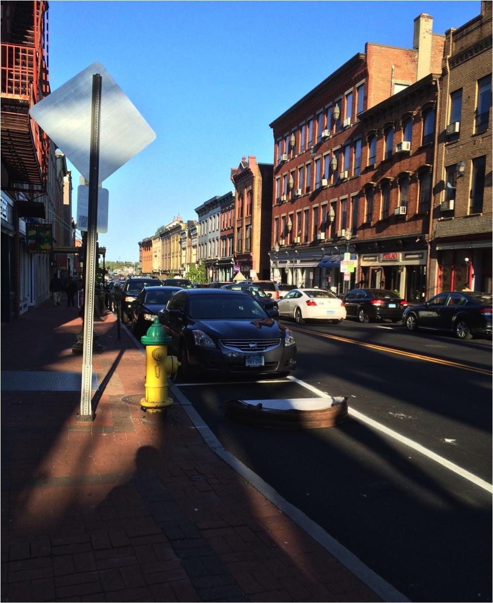 Washington Street in South Norwalk