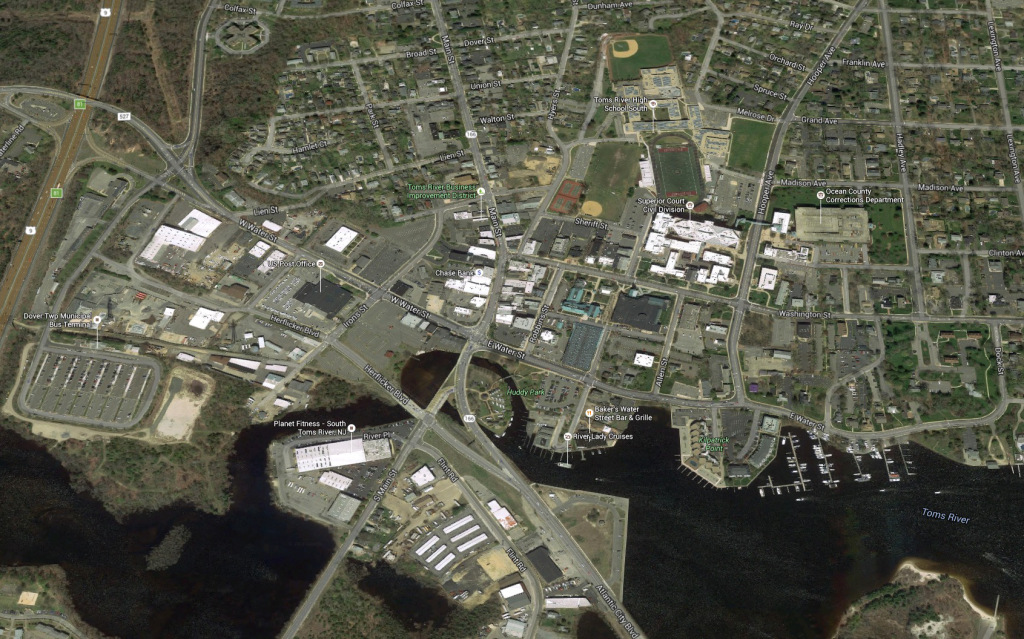 The downtown. (image from Google maps)