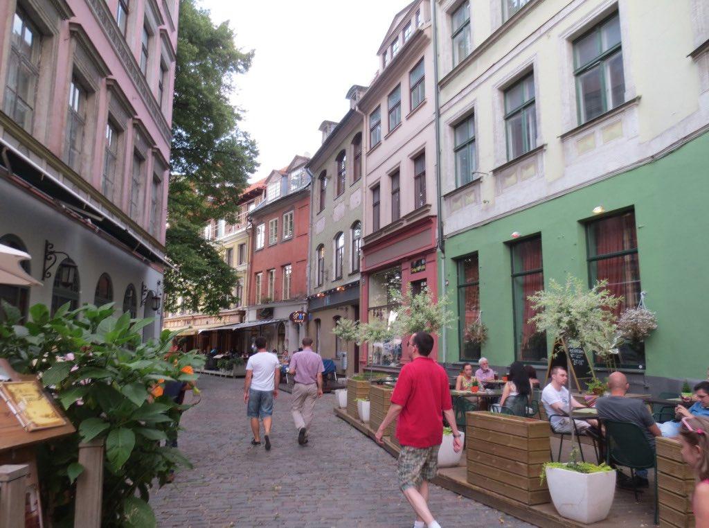 Riga, Latvia  (Source.)