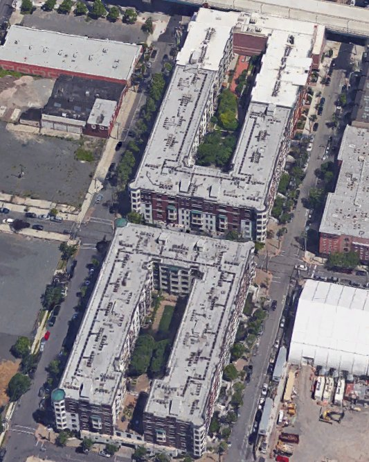 Some of the block-sized stuff being built now in Hoboken.  (Map.)