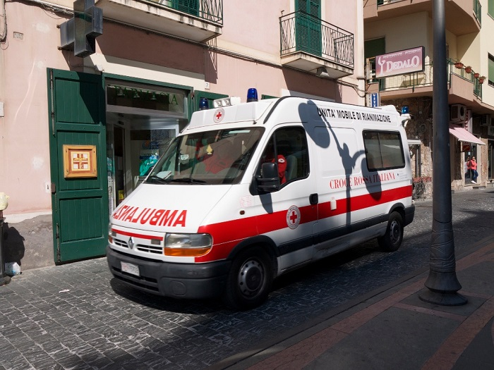 An ambulance can fit down a 15 foot wide street just fine.  (Source.)