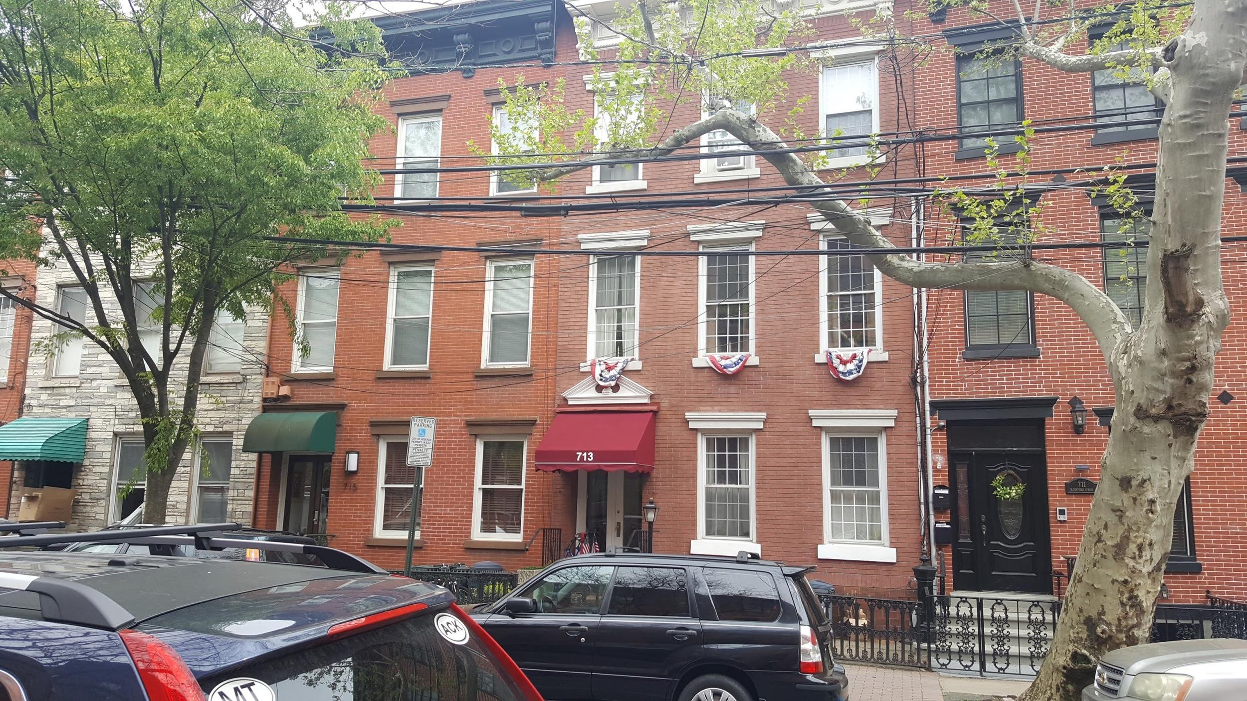 Townhomes in Hoboken