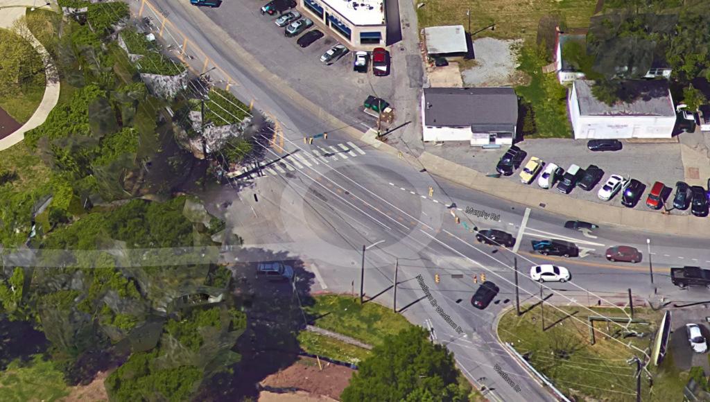 Google overhead view circa 2009