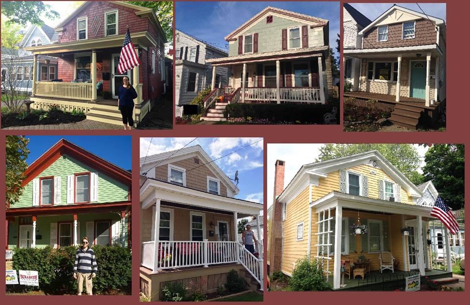 Historic homes rehabbed through Oswego Renaissance Association