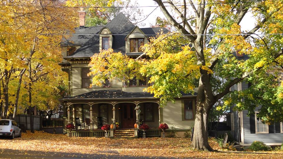 Paul's historic home after rehabbing