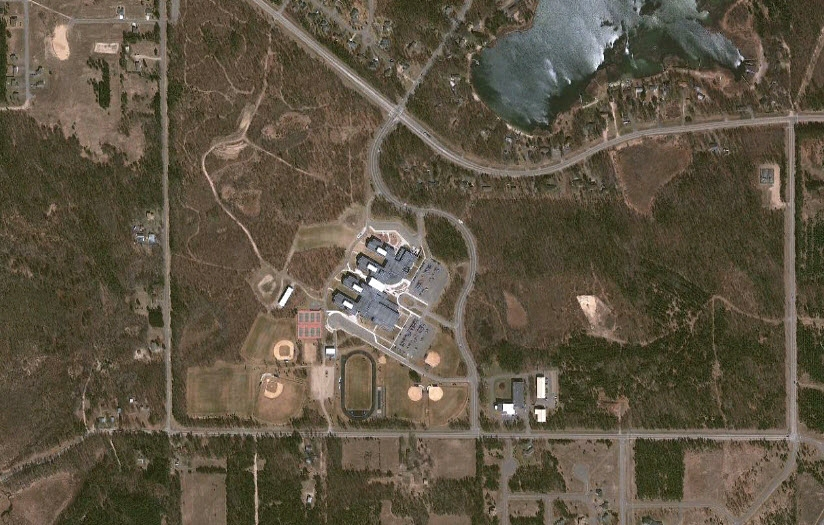 Forestview in Baxter, MN. (Photo from Google Earth.)