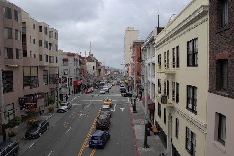 Typical street in San Francisco.  (Photo credit: Anja Redenbaugh )