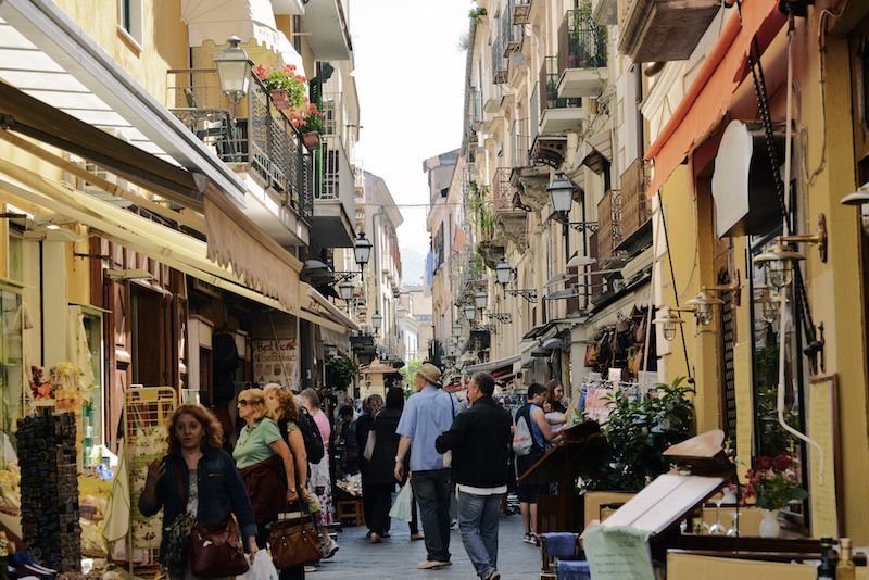 Sorrento, Italy.  (Photo credit: Harvey Barrison )