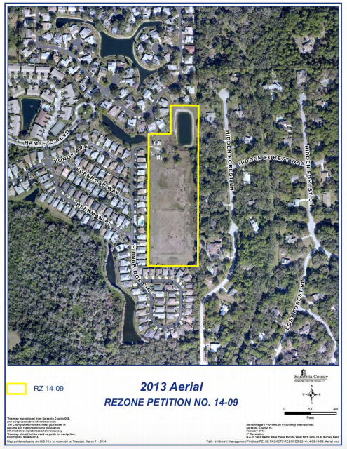 (Source:  Sarasota County Planning and Development Services  rezone petition staff report)