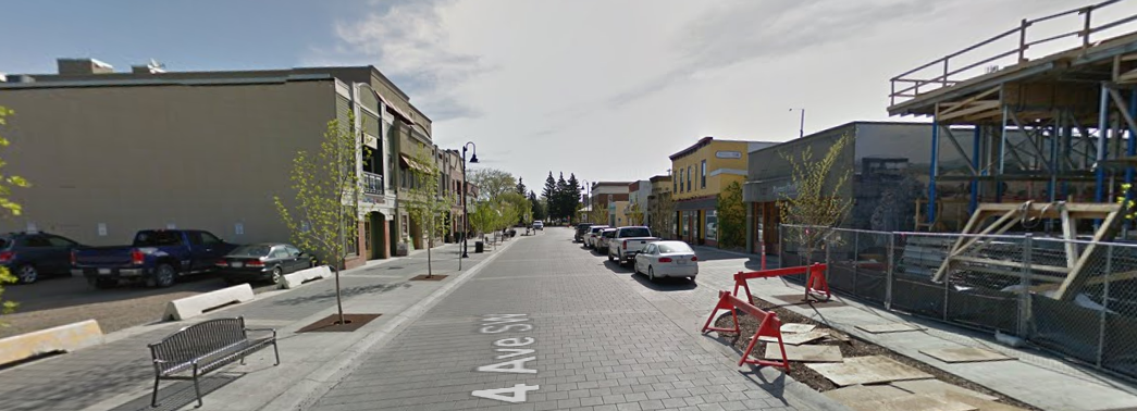 4th Avenue in High River, May 2016 (from   Google Streetview  )