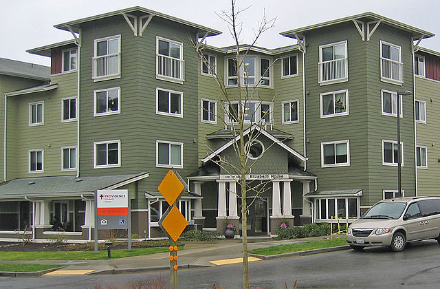A typical affordable-housing project of the type that federal tax credits fund. Source: Wikipedia